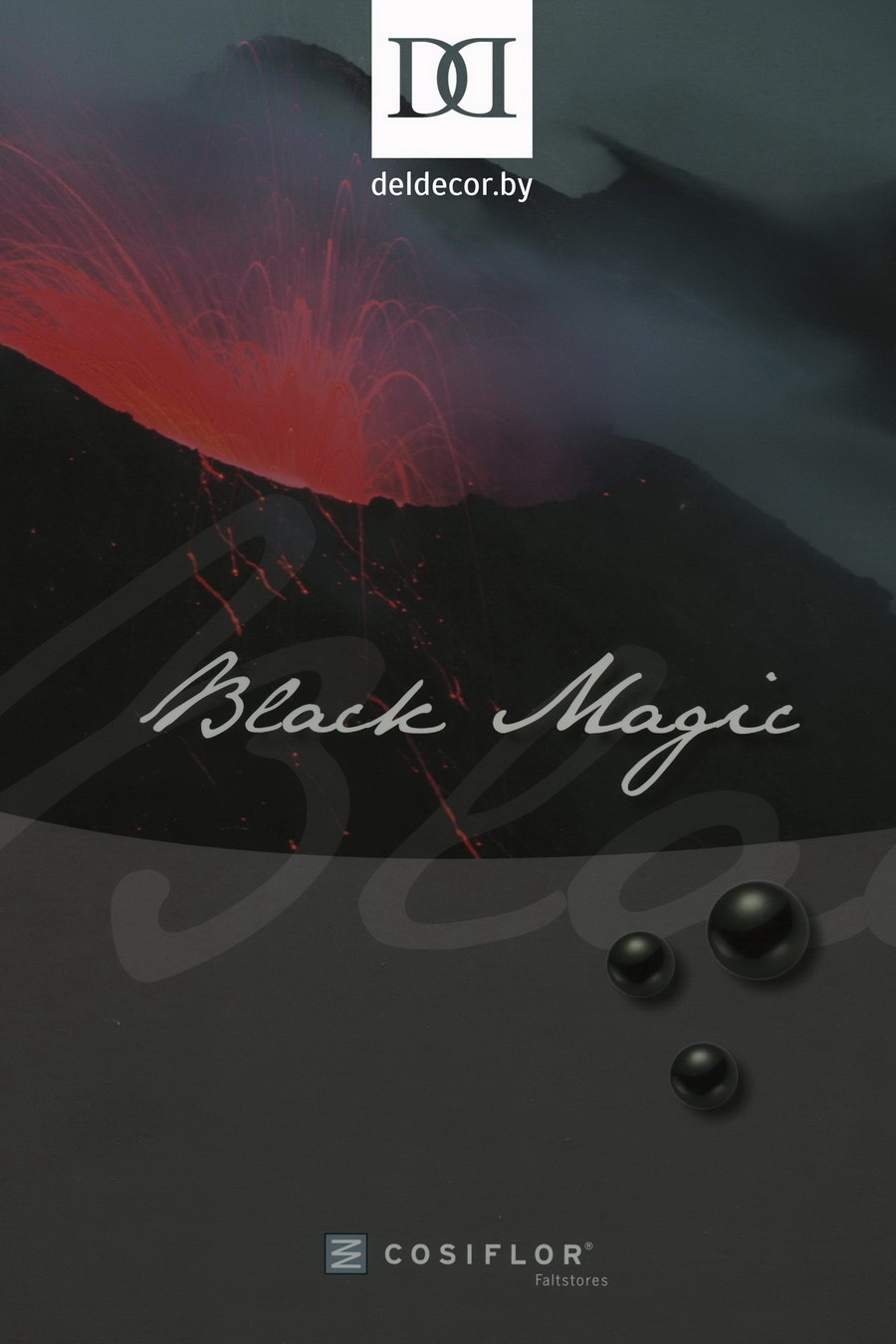 Шторы плиссе BLACK MAGIC